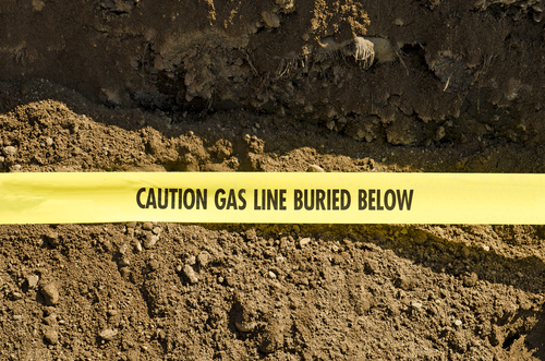 LOCATE  GAS LINES